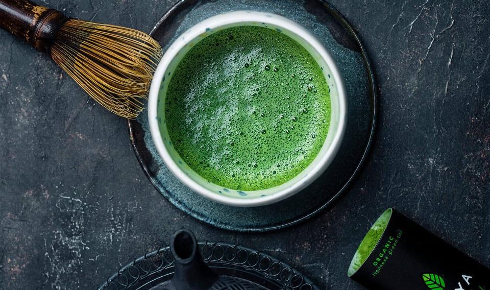 Grøn te til aftensmad
