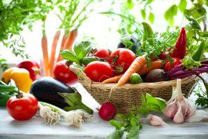 diverse grøntsager